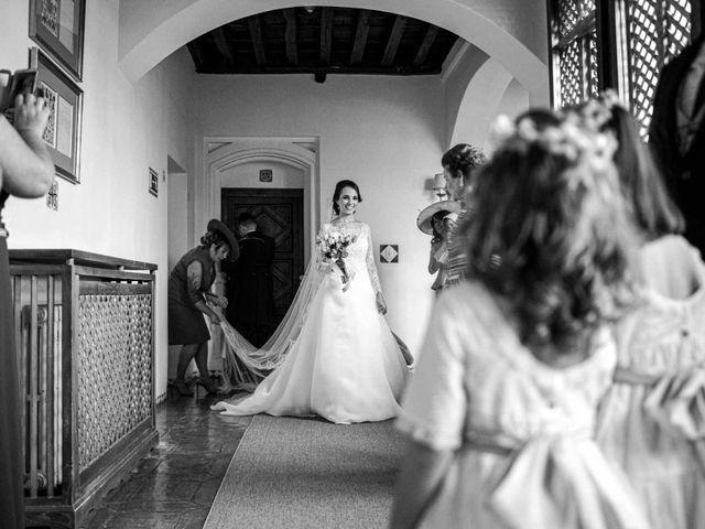 La boda de Pedro y Nuria en Cañamero, Cáceres 33