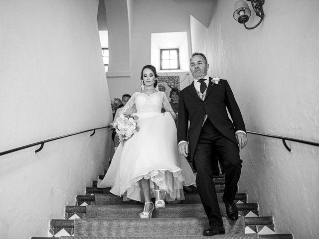 La boda de Pedro y Nuria en Cañamero, Cáceres 35