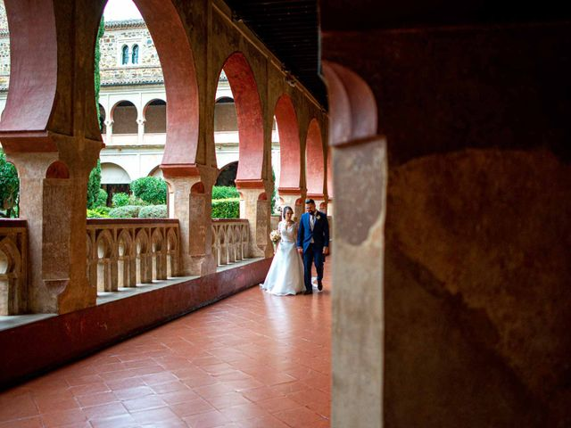 La boda de Pedro y Nuria en Cañamero, Cáceres 55