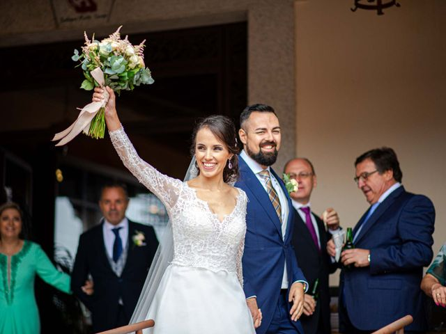 La boda de Pedro y Nuria en Cañamero, Cáceres 67