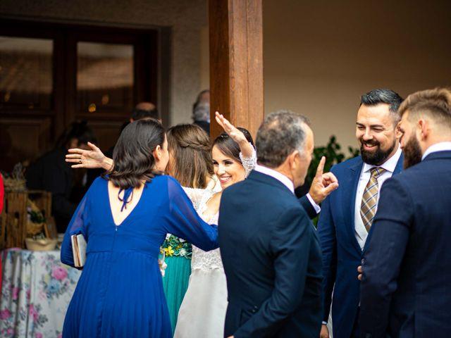 La boda de Pedro y Nuria en Cañamero, Cáceres 68