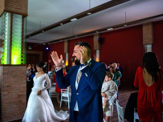La boda de Pedro y Nuria en Cañamero, Cáceres 79
