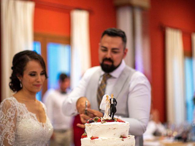 La boda de Pedro y Nuria en Cañamero, Cáceres 85