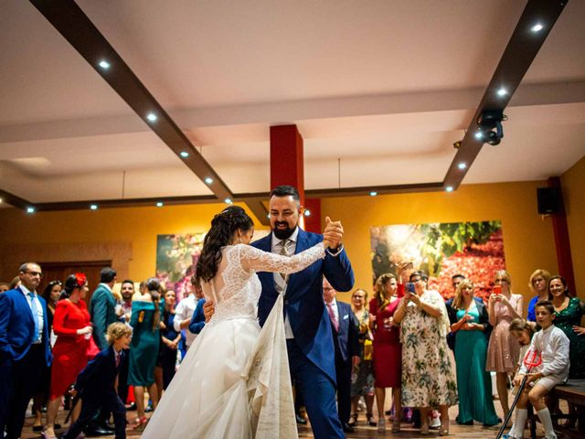 La boda de Pedro y Nuria en Cañamero, Cáceres 90