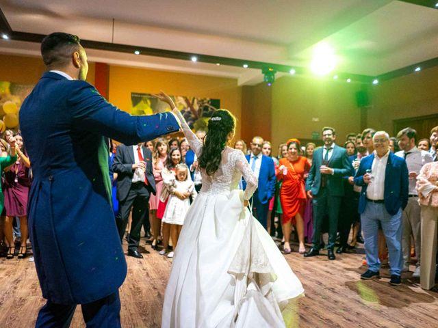 La boda de Pedro y Nuria en Cañamero, Cáceres 94