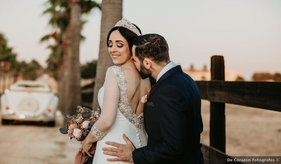 La boda de Javier y Rosario en Villarrasa, Huelva