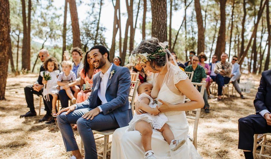 La boda de Edu y Mayra  en La Adrada, Ávila