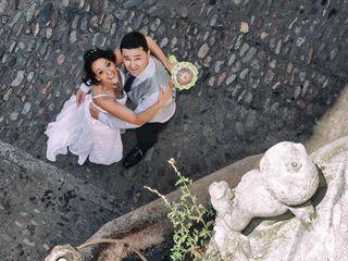 La boda de Mònica y Toni