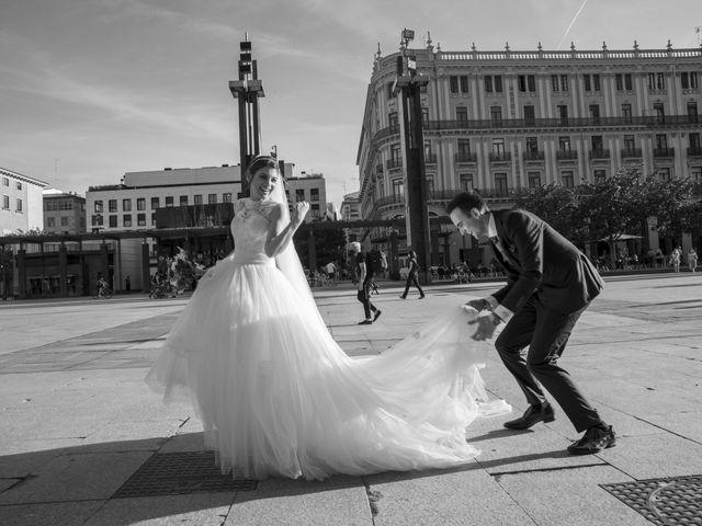La boda de Pablo y Lara en Zaragoza, Zaragoza 1