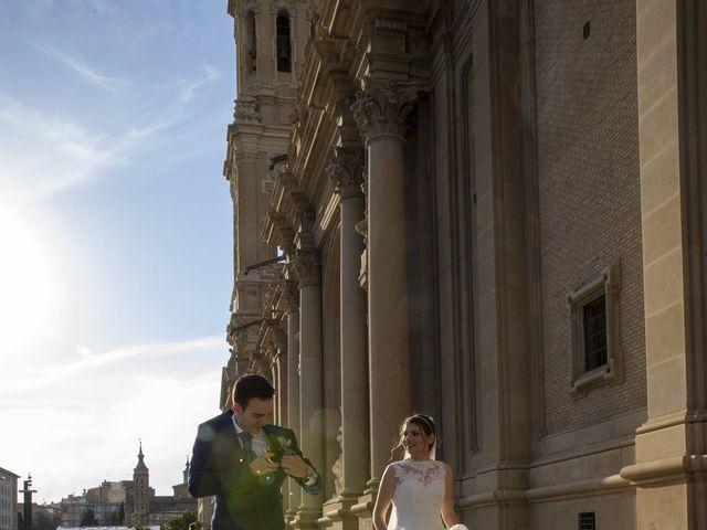 La boda de Pablo y Lara en Zaragoza, Zaragoza 5
