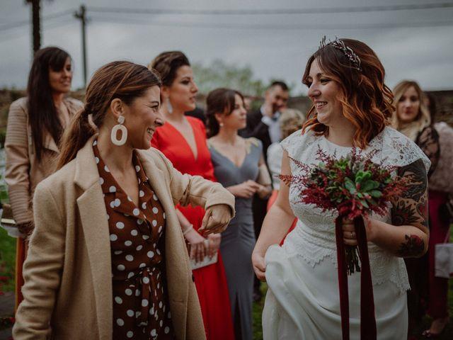 La boda de Pelayo y Sandra en Santa Ana De Abuli, Asturias 56