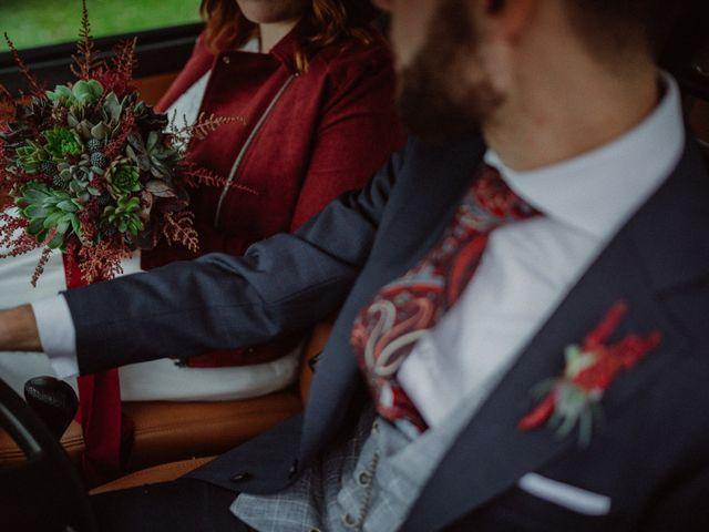 La boda de Pelayo y Sandra en Santa Ana De Abuli, Asturias 70