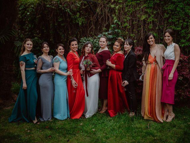 La boda de Pelayo y Sandra en Santa Ana De Abuli, Asturias 91