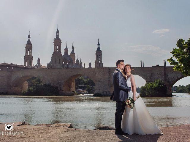 La boda de Rubén  y Estela en Zaragoza, Zaragoza 9