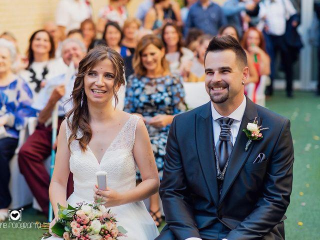 La boda de Rubén  y Estela en Zaragoza, Zaragoza 12