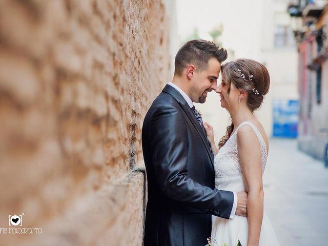La boda de Rubén  y Estela en Zaragoza, Zaragoza 15
