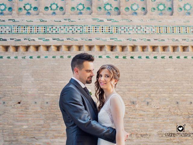 La boda de Rubén  y Estela en Zaragoza, Zaragoza 16
