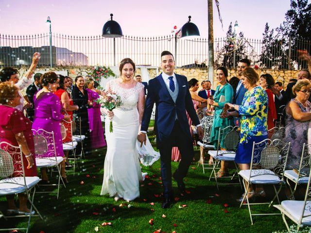 La boda de Fran y Cristina en Villafranca De Los Barros, Badajoz 38