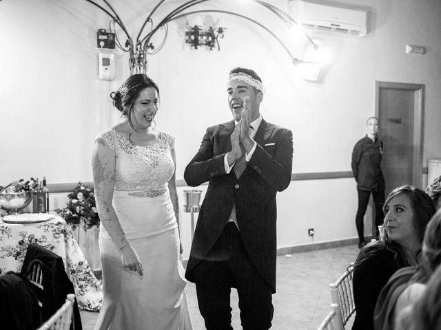 La boda de Fran y Cristina en Villafranca De Los Barros, Badajoz 45