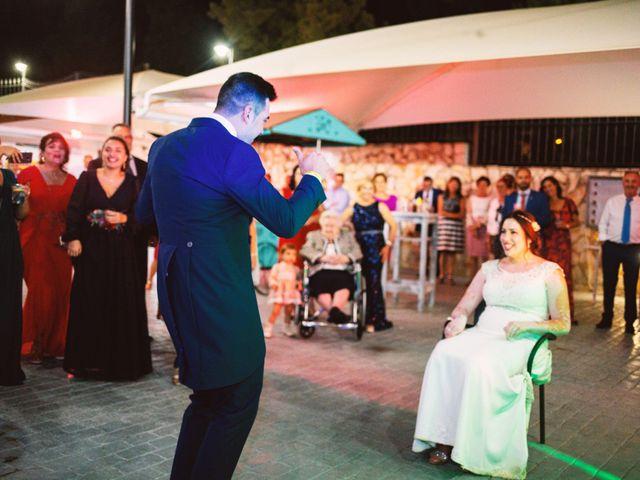 La boda de Fran y Cristina en Villafranca De Los Barros, Badajoz 52