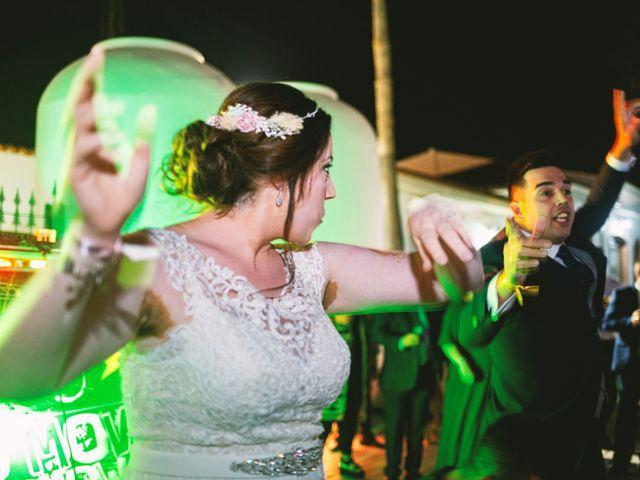 La boda de Fran y Cristina en Villafranca De Los Barros, Badajoz 54