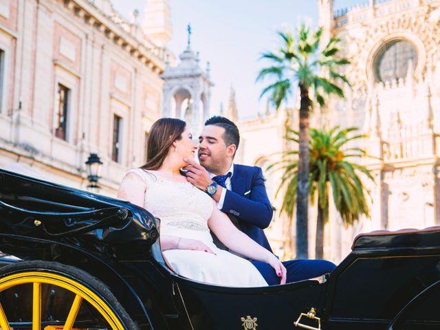 La boda de Fran y Cristina en Villafranca De Los Barros, Badajoz 58