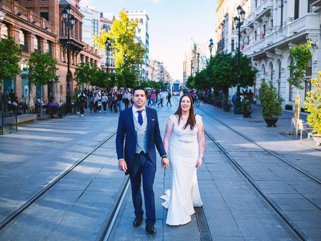 La boda de Fran y Cristina en Villafranca De Los Barros, Badajoz 59