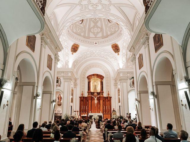 La boda de Marcos y Isabel en Granada, Granada 15