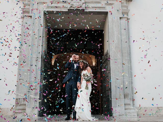 La boda de Marcos y Isabel en Granada, Granada 17