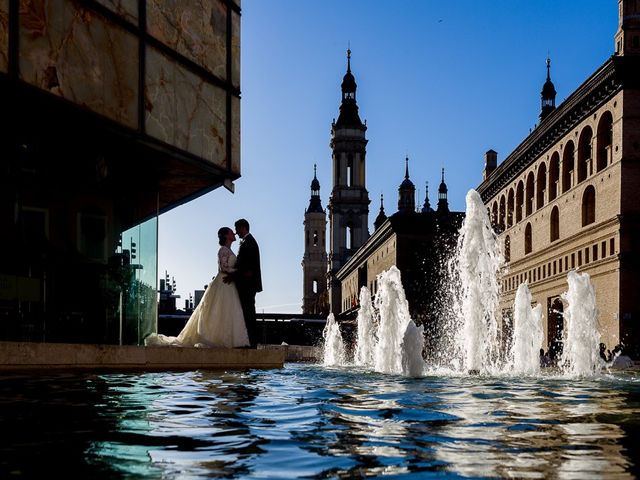 La boda de Pablo y Vanesa en Zaragoza, Zaragoza 14