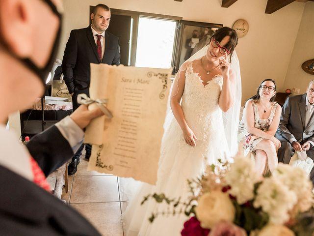 La boda de Sara y Marc en Malla, Barcelona 19