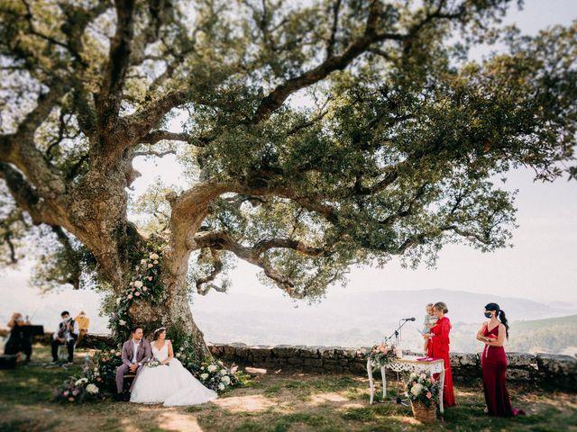 La boda de Brais y Cristina en Soutomaior, Pontevedra 1