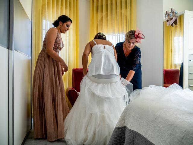 La boda de Fran y Marta en Granada, Granada 19