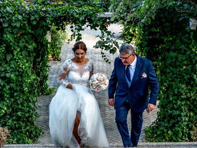 La boda de Fran y Marta en Granada, Granada 26