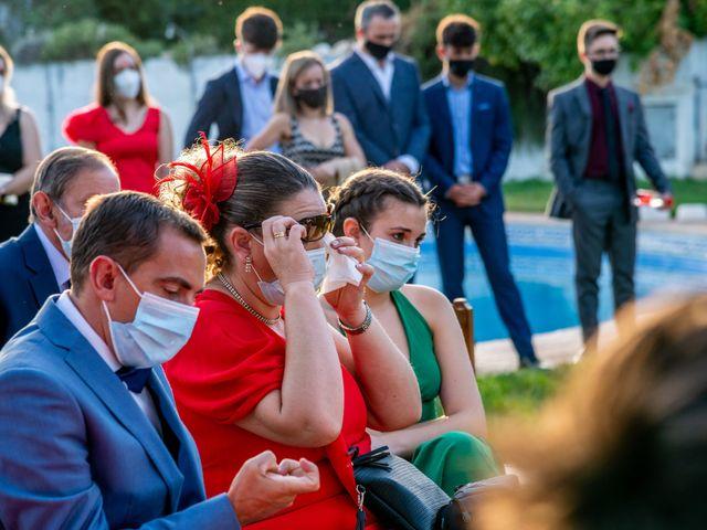 La boda de Fran y Marta en Granada, Granada 32