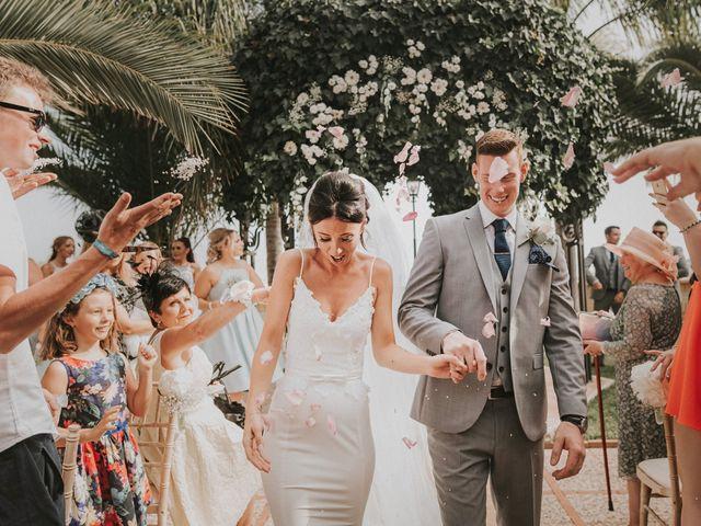 La boda de Sian y Jon