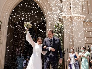 La boda de Lourdes  y Javier