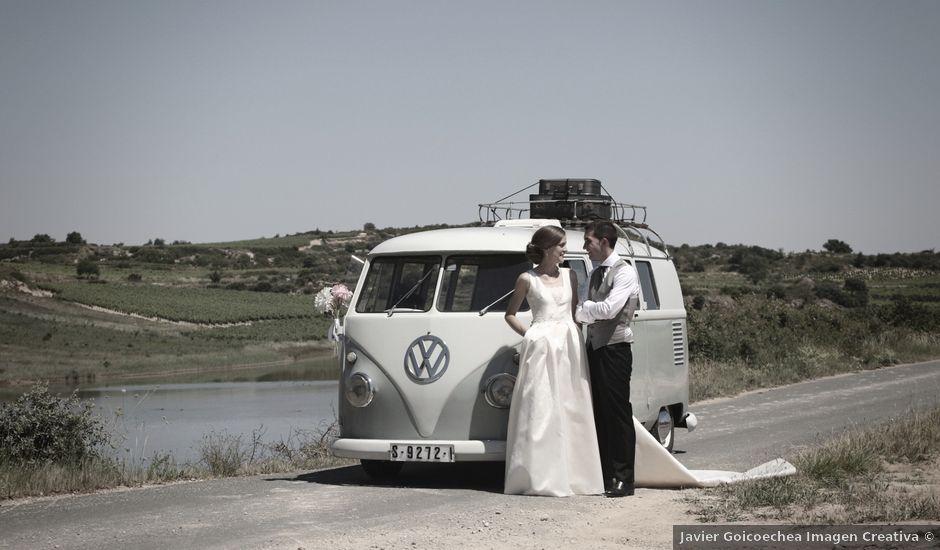 La boda de Raul y Rebeca en Laguardia, Álava