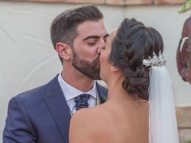 La boda de Alfonso  y Esther  en Los Alcazares, Murcia 1