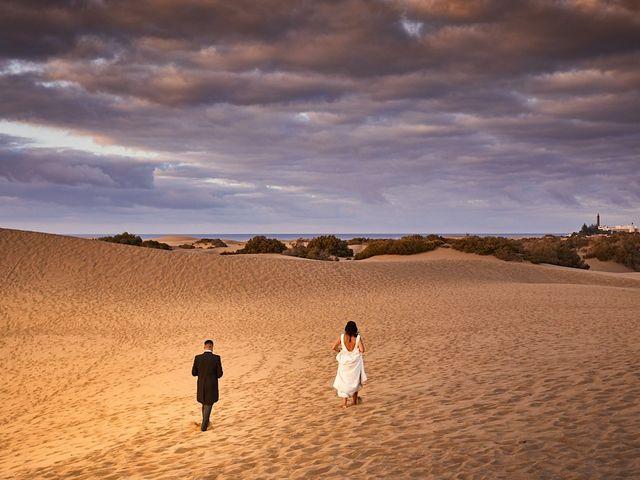 La boda de Adrián y Marta en Las Meloneras, Las Palmas 45