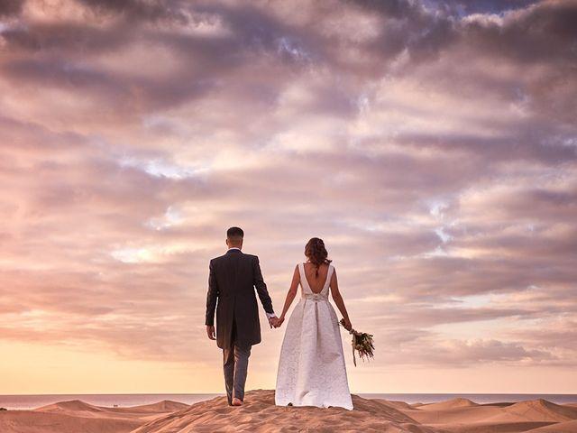 La boda de Adrián y Marta en Las Meloneras, Las Palmas 47