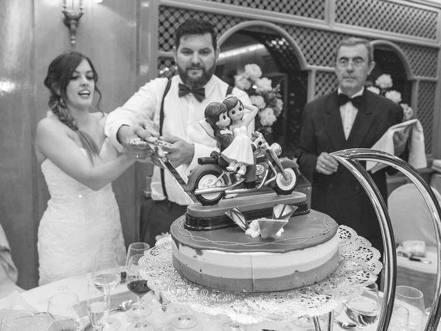 La boda de Rubén y Patricia en Guadarrama, Madrid 77