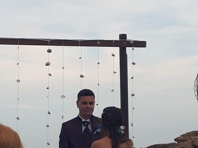 La boda de Francisco  y Saray en L' Ametlla De Mar, Tarragona 1