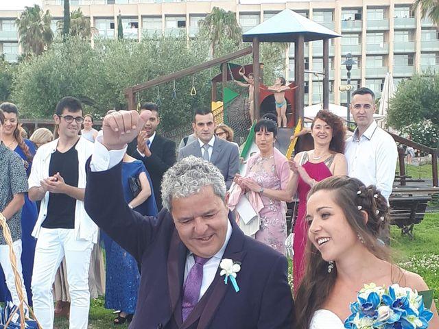 La boda de Francisco  y Saray en L' Ametlla De Mar, Tarragona 2