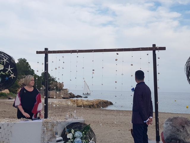 La boda de Francisco  y Saray en L' Ametlla De Mar, Tarragona 4
