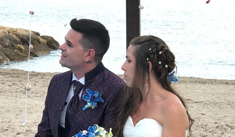 La boda de Francisco  y Saray en L' Ametlla De Mar, Tarragona