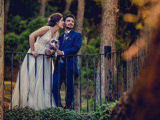 La boda de Adrian y Marta