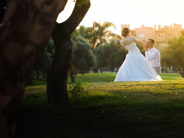 La boda de Timothy Rodgers y Angela Saura en San Javier, Murcia 1