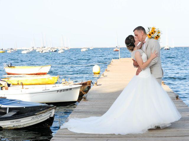 La boda de Timothy Rodgers y Angela Saura en San Javier, Murcia 2