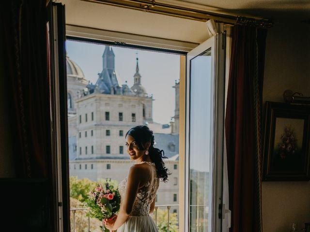 La boda de Óscar  y Massiel  en El Escorial, Madrid 6